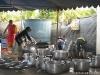 ล้างจานชามหม้ออุปกรณ์ครัว